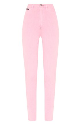Женские джинсы PHILIPP PLEIN розового цвета, арт. S20C WDT1310 PDE004N | Фото 1