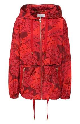 Женская куртка с принтом ESCADA SPORT красного цвета, арт. 5031884 | Фото 1