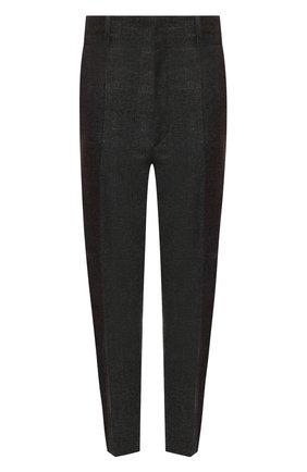 Женские брюки ISABEL MARANT ETOILE темно-серого цвета, арт. PA0718-20P010E/N0AH   Фото 1