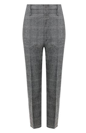 Женские брюки ISABEL MARANT ETOILE черно-белого цвета, арт. PA0718-20P010E/N0AH   Фото 1