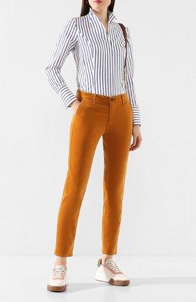 Женские джинсы AG коричневого цвета, арт. VVC1613/RCGD | Фото 2