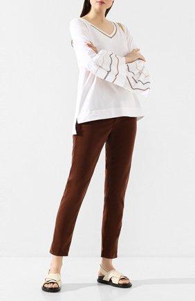 Женские джинсы AG коричневого цвета, арт. VVC1613/DTAB | Фото 2