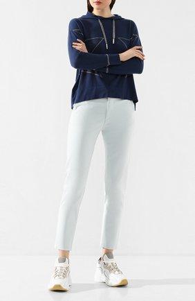 Женские джинсы AG голубого цвета, арт. SBW1613/AQIC | Фото 2