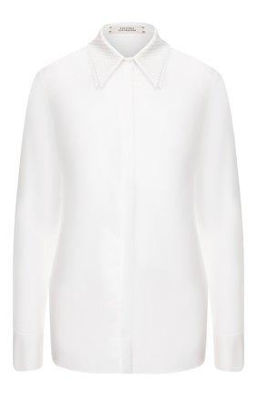 Женская хлопковая рубашка DOROTHEE SCHUMACHER белого цвета, арт. 648204/PATCHED PERFECTI0N | Фото 1