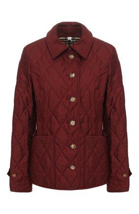 Женская куртка fernleigh BURBERRY красного цвета, арт. 8023322 | Фото 1