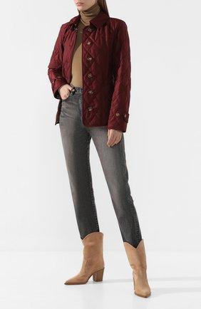 Женская куртка fernleigh BURBERRY красного цвета, арт. 8023322 | Фото 2
