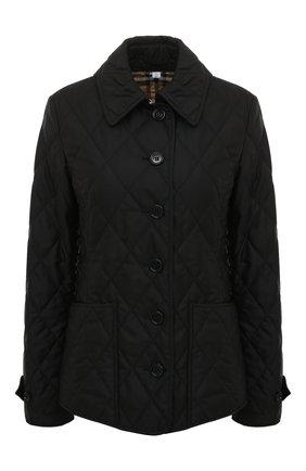 Женская куртка fernleigh BURBERRY черного цвета, арт. 8023320 | Фото 1
