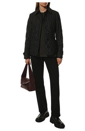 Женская куртка fernleigh BURBERRY черного цвета, арт. 8023320 | Фото 2