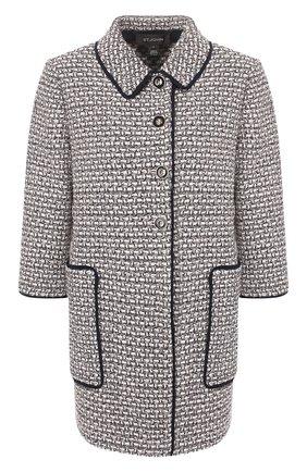 Женское пальто ST. JOHN розового цвета, арт. K61Y0A3 | Фото 1