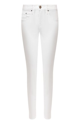 Женские джинсы JACOB COHEN белого цвета, арт. KIMBERLY CR0P 00906-V/53   Фото 1