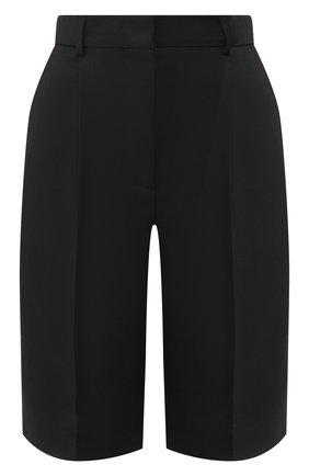 Женские шорты ACNE STUDIOS черного цвета, арт. AE0018/W | Фото 1