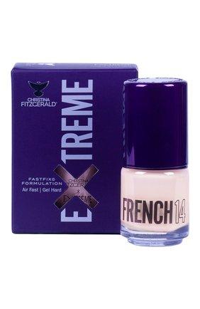 Женский лак для ногтей extreme, оттенок french 14 CHRISTINA FITZGERALD бесцветного цвета, арт. 9333381005038 | Фото 1