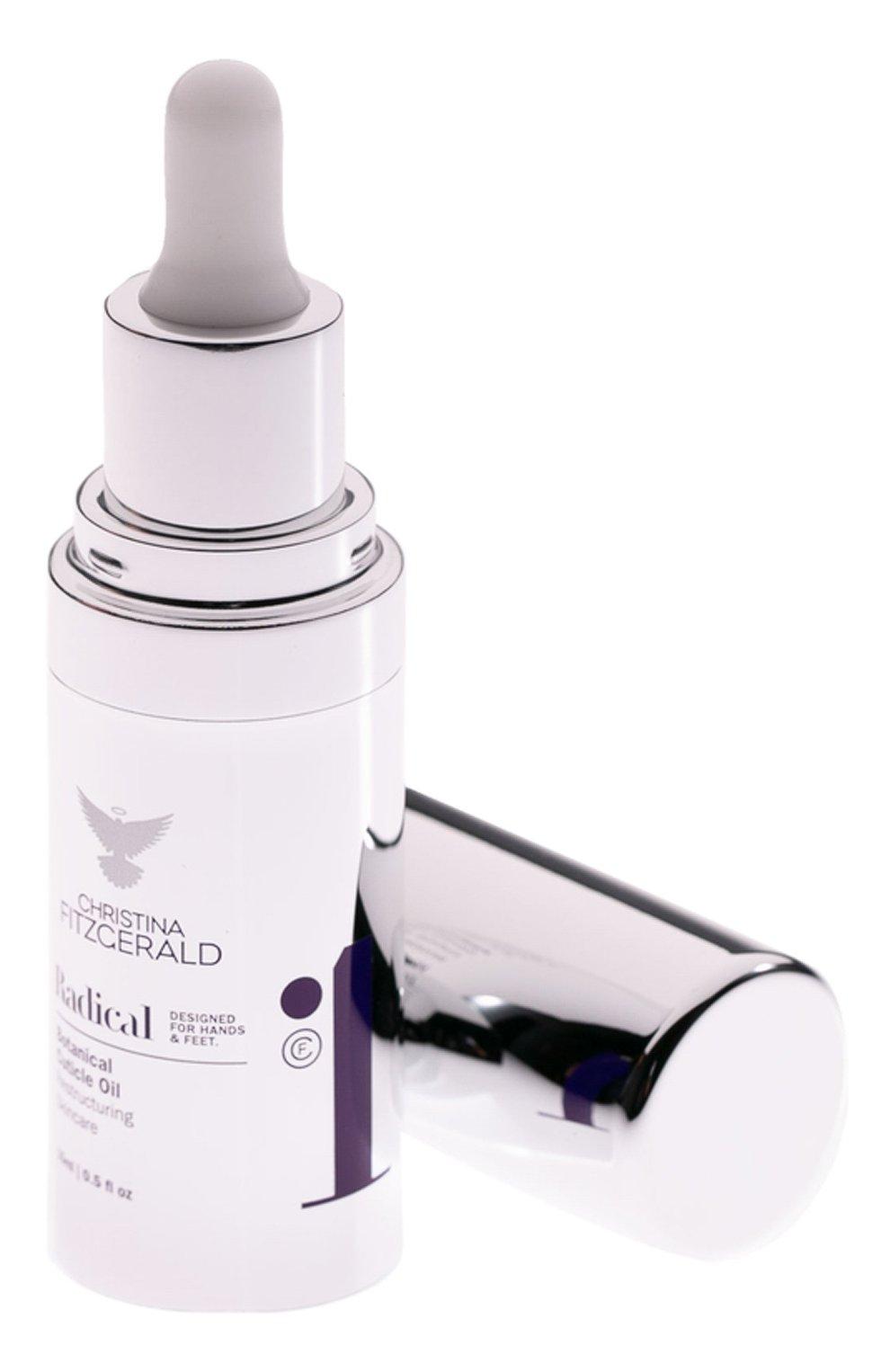 Женский ботаник-масло для кутикулы radical CHRISTINA FITZGERALD бесцветного цвета, арт. 9333381006349 | Фото 1