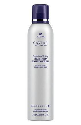Женского лак сильной фиксации с антивозрастным уходом caviar anti-aging ALTERNA бесцветного цвета, арт. 873509028918 | Фото 1