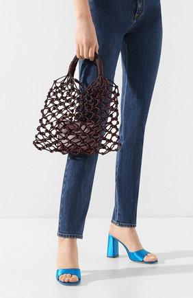 Женская сумка-тоут STELLA MCCARTNEY бордового цвета, арт. 700007/W8635 | Фото 2