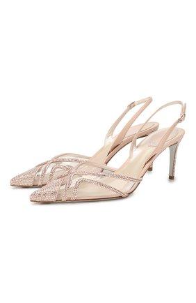 Женская туфли diana RENE CAOVILLA бежевого цвета, арт. C10417-075-VINAV233 | Фото 1