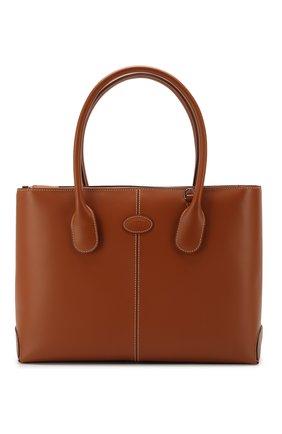 Женская сумка  d-styling TOD'S коричневого цвета, арт. XBWDBAA0300RII | Фото 1