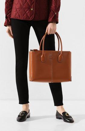 Женская сумка  d-styling TOD'S коричневого цвета, арт. XBWDBAA0300RII | Фото 2