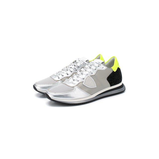Текстильные кроссовки Philippe Model — Текстильные кроссовки