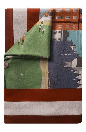 Мужского кашемировый плед LORO PIANA разноцветного цвета, арт. FAE0220 | Фото 1