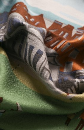 Мужского кашемировый плед LORO PIANA разноцветного цвета, арт. FAE0220 | Фото 2