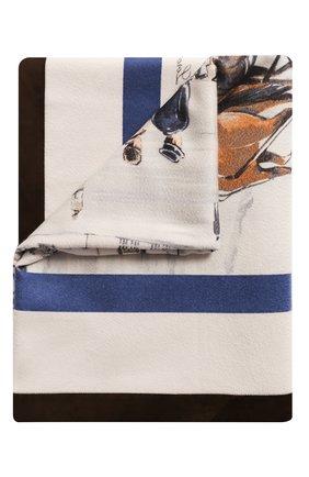 Мужского кашемировый плед LORO PIANA разноцветного цвета, арт. FAE8717 | Фото 1