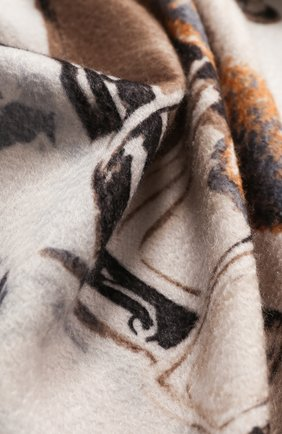Мужского кашемировый плед LORO PIANA разноцветного цвета, арт. FAE8717 | Фото 2