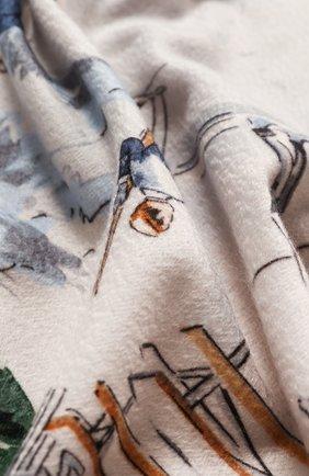 Мужского кашемировый плед LORO PIANA разноцветного цвета, арт. FAF5007 | Фото 2