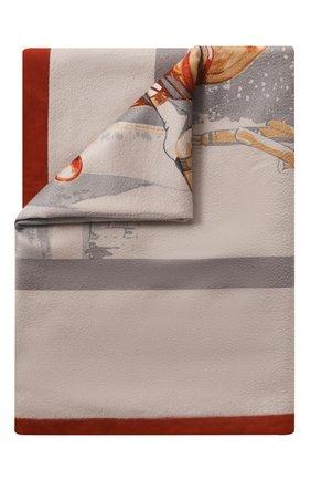 Мужского кашемировый плед LORO PIANA разноцветного цвета, арт. FAC6786 | Фото 1