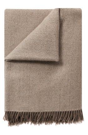 Мужского кашемировый плед LORO PIANA светло-серого цвета, арт. FAI8700 | Фото 1
