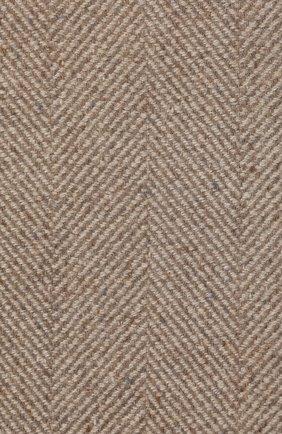 Мужского кашемировый плед LORO PIANA светло-серого цвета, арт. FAI8700   Фото 3