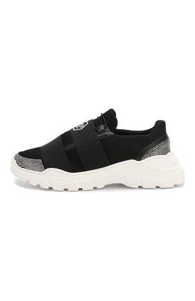 Детские кроссовки PHILIPP PLEIN черного цвета, арт. S20S GSC0108 PLE075N | Фото 2