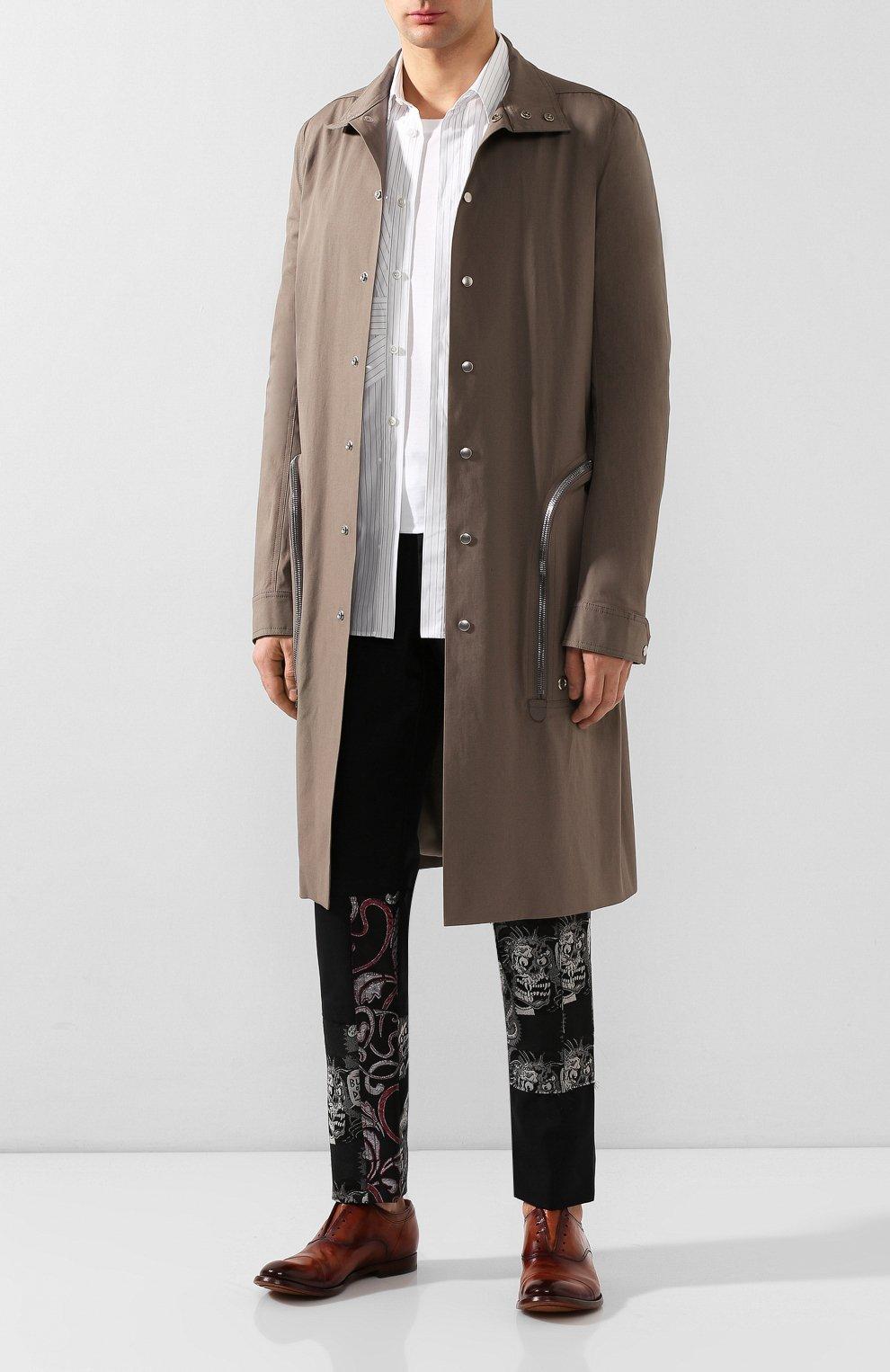 Мужские кожаные оксфорды OFFICINE CREATIVE коричневого цвета, арт. ANAT0MIA/08/AER0 CANY0N | Фото 2 (Материал внутренний: Натуральная кожа; Стили: Классический)