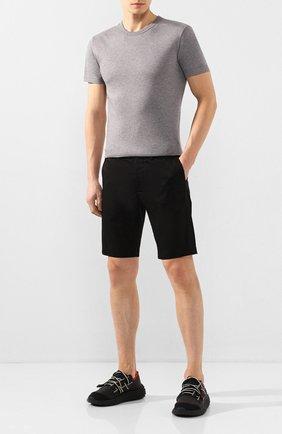 Мужские текстильные кроссовки GIUSEPPE ZANOTTI DESIGN черного цвета, арт. RM00031/001 | Фото 2