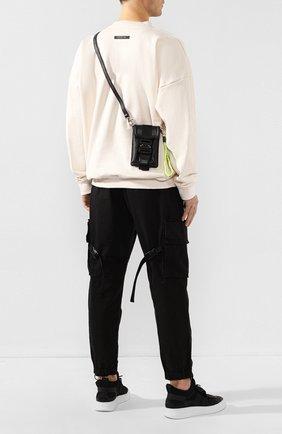 Мужская кожаная сумка VIC MATIE черного цвета, арт. 1X0836T.999C4LBQ55 | Фото 2
