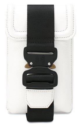 Мужская кожаная сумка VIC MATIE белого цвета, арт. 1X0836T.999C4LBQ48 | Фото 1