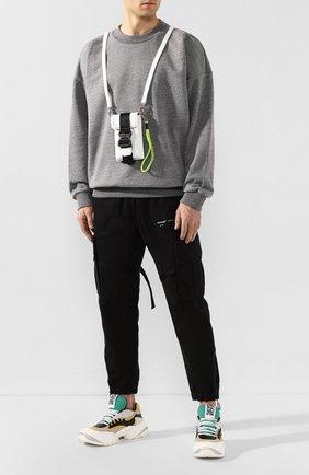 Мужская кожаная сумка VIC MATIE белого цвета, арт. 1X0836T.999C4LBQ48 | Фото 2
