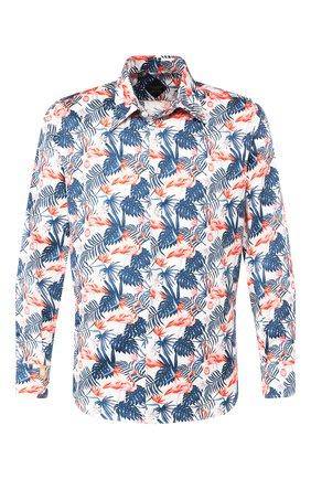 Мужская хлопковая рубашка BILLIONAIRE разноцветного цвета, арт. B20C MRP1149 BTE002N | Фото 1