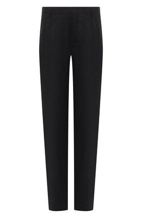 Мужской шелковые брюки GIORGIO ARMANI темно-синего цвета, арт. 0SGPP0BE/T00Q7 | Фото 1