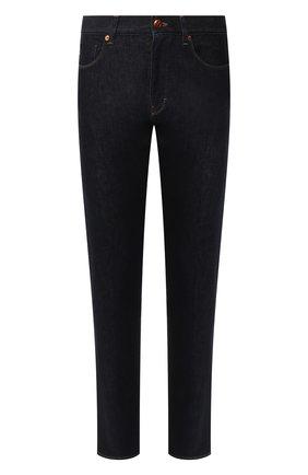 Мужские джинсы GIORGIO ARMANI темно-синего цвета, арт. 3HSJ65/SDF6Z | Фото 1