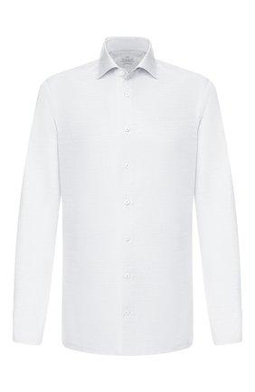 Мужская хлопковая сорочка VAN LAACK серого цвета, арт. RIVARA-SF/150067 | Фото 1