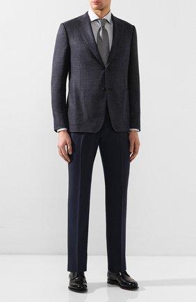 Мужская хлопковая сорочка VAN LAACK серого цвета, арт. RIVARA-SF/150067 | Фото 2