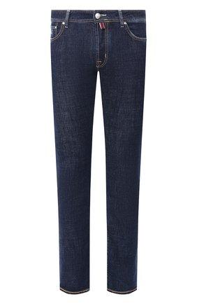 Мужские джинсы JACOB COHEN темно-синего цвета, арт. J688 C0MF 01190-W1/53   Фото 1
