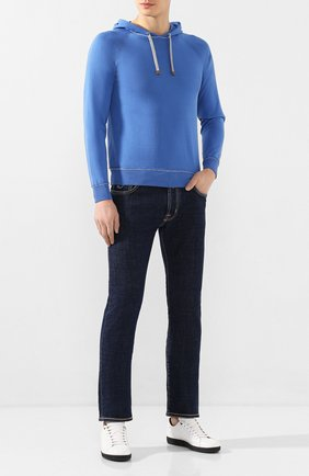 Мужские джинсы JACOB COHEN темно-синего цвета, арт. J688 C0MF 01190-W1/53   Фото 2