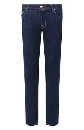 Мужские джинсы JACOB COHEN синего цвета, арт. J688 C0MF 00979-W1/53 | Фото 1