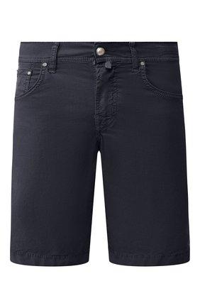 Мужские хлопковые шорты JACOB COHEN темно-синего цвета, арт. J6636 C0MF 06510-V/53 | Фото 1