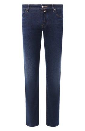 Мужские джинсы JACOB COHEN синего цвета, арт. J620 C0MF 01849-W2/53   Фото 1
