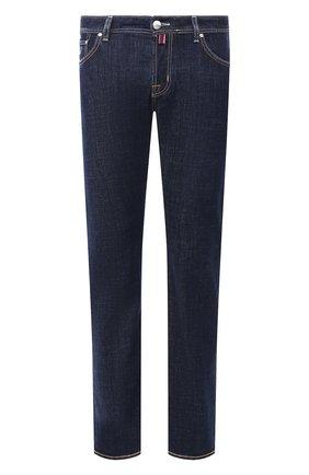 Мужские джинсы JACOB COHEN темно-синего цвета, арт. J620 C0MF 01190-W1/53   Фото 1