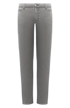 Мужской хлопковые брюки JACOB COHEN темно-серого цвета, арт. B0BBY C0MF 08165-B/53   Фото 1