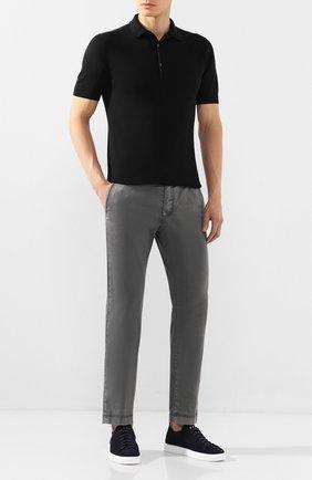 Мужской хлопковые брюки JACOB COHEN темно-серого цвета, арт. B0BBY C0MF 08165-B/53   Фото 2